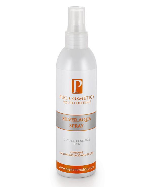 Silver Aqua Spray Увлажняющий спрей для лица. Для сухой и чувствительной кожи - LYCHEECOM эффективная косметика по уходу в Киеве