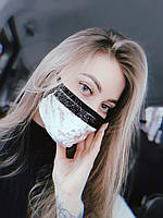 Маска женская защитная ХХ бархат Бежевый (ин-20-0017)