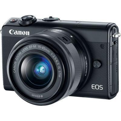 Цифровая фотокамера Canon EOS M100 + 15-45 IS STM Black