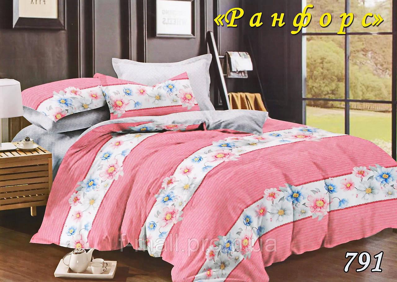 Комплект постельного белья Тет-А-Тет (Украина) евро ранфорс (791)