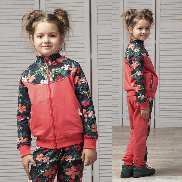 Спортивный костюм для девочки Joiks  035CK ( р. 104,140)