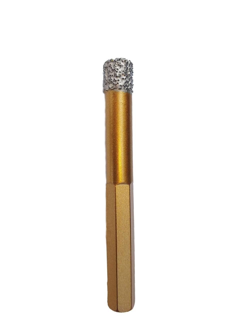 Коронка Craft вакумна з шестигранним хвостовиком для керамограниту 8мм