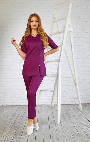 Женская медицинская куртка топ Дана - Одежда для косметологов, фото 2