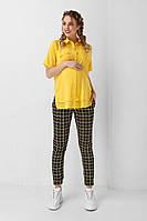 Блуза для вагітних 1939 1097 жовта