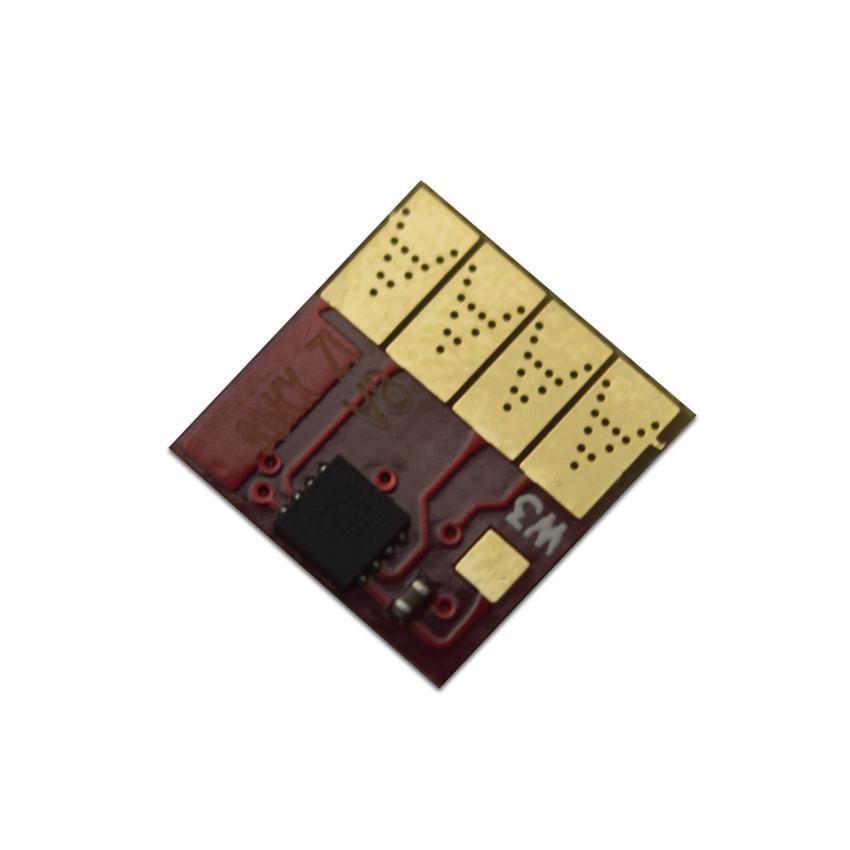 Авточип Ocbestjet для картриджа HP №933 для HP OfficeJet 6100/6600/7110/7610, Yellow