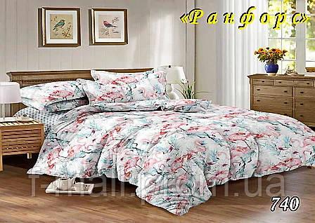 Комплект постельного белья Тет-А-Тет (Украина) евро ранфорс (740)