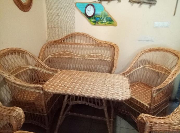 Комплект мебели ручной работы для дома, дачи, кафе