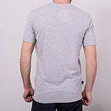 Чоловіча спортивна футболка світло сіра Reebok \ Чоловіча спортивна футболка Reebok, фото 2
