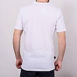 Чоловіча спортивна футболка Reebok, білого кольору, фото 2