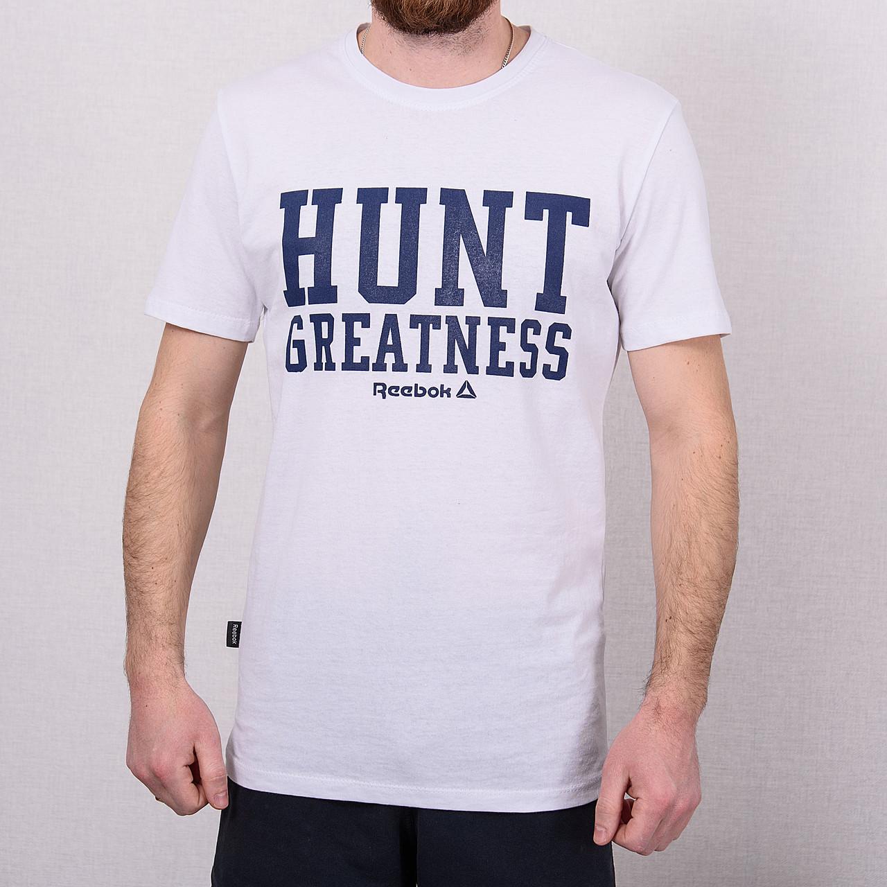 Чоловіча спортивна футболка Reebok, білого кольору
