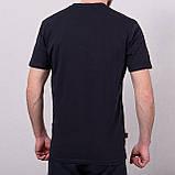 Чоловіча спортивна футболка Reebok, темно-синього кольору, фото 2