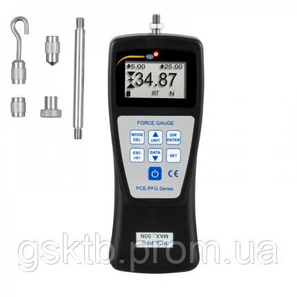 PCE-PFG 50 динамометр до 5 кг (Германия), фото 2