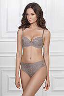 Бюстгальтер Jasmine 1231/80 LARY gray/rose