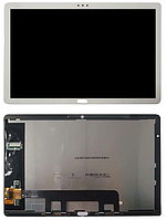 Дисплей Huawei MediaPad M5 Lite 10 (BAH2-L09, BAH2-W19) с сенсором (тачскрином) белый Оригинал (Тестирован)