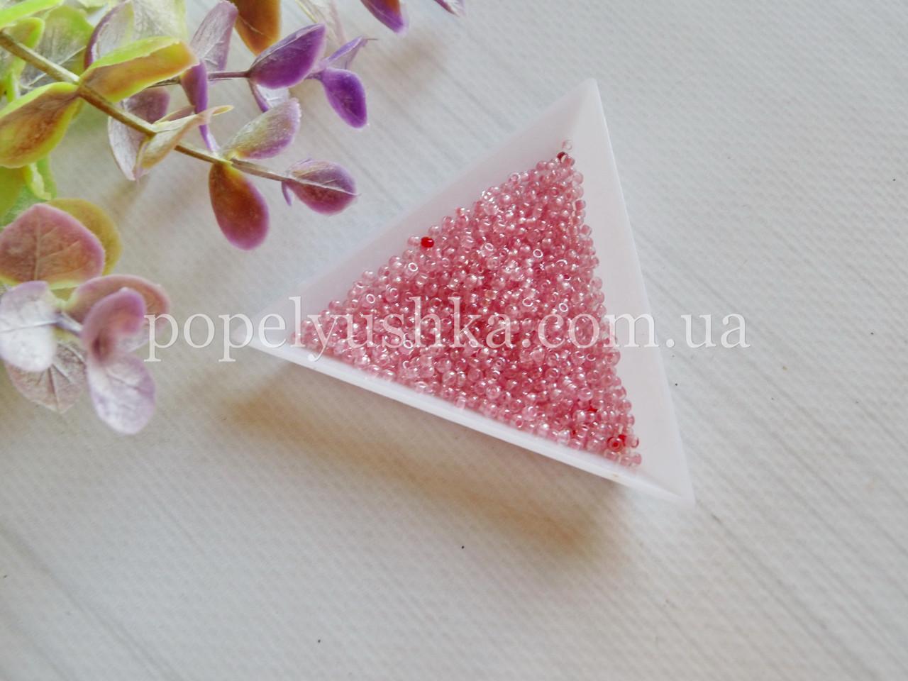 Бісер чеський  Рожевий (10 г)