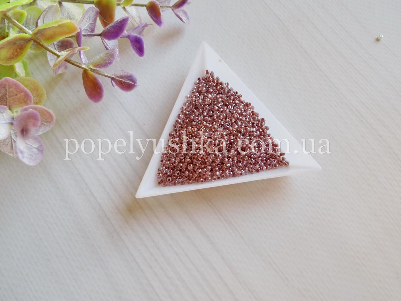 Бісер чеський Рожево-Фіолетовий (10 г)