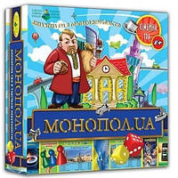 """Настольная игра """"МОНОПОЛ.UA"""" 82210"""