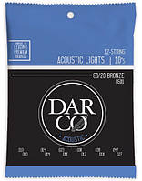 MARTIN D500 Darco Acoustic 80/20 Bronze 12-String Light (10-47) Струны для акустической гитары 12шт