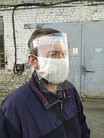 Защитная маска-экран для лица удлиненная
