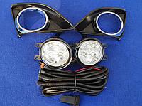 Противотуманные LED фары Toyota Corolla e150 e 140
