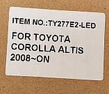 Противотуманные LED фары Toyota Corolla e150 e 140, фото 3