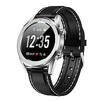 Розумні годинник No.1 DT28 Silicon з ЕКГ і пульсоксиметром (Сріблястий)