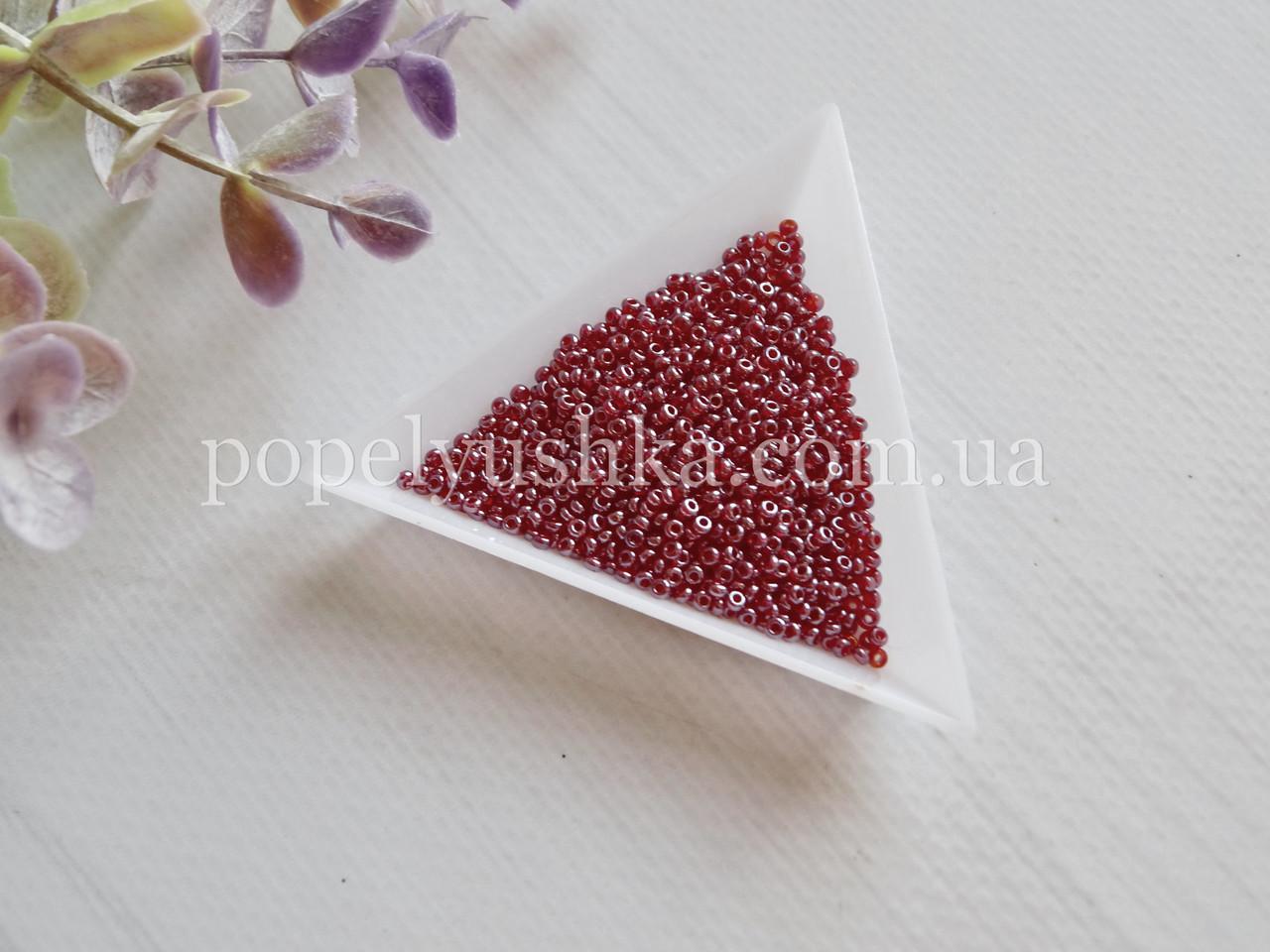 Бісер чеський  темно-Рожевий (10 г)