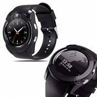 Мужские смарт-часы Smart Watch V8 черные Original