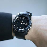 Сенсорные Smart Watch V8 смарт часы Android, умные часы ЧЕРНЫЕ