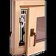 Окно для бани и сауны Tesli поворотное 600х500 мм стеклопакет двухкамерный, фото 2