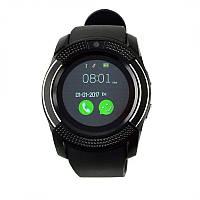 Умные часы мужские V8 Smart Watch Черные