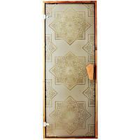 Дверь для сауны и хаммама Tesli Сезам 1900 х 700