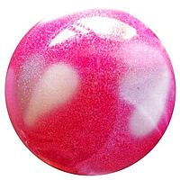 Мяч для художественной гимнастики(д 15) розовый Т-12