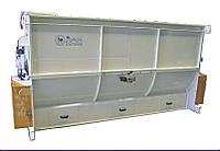 Горизонтальный смеситель для комбикорма 500 л Mecafa