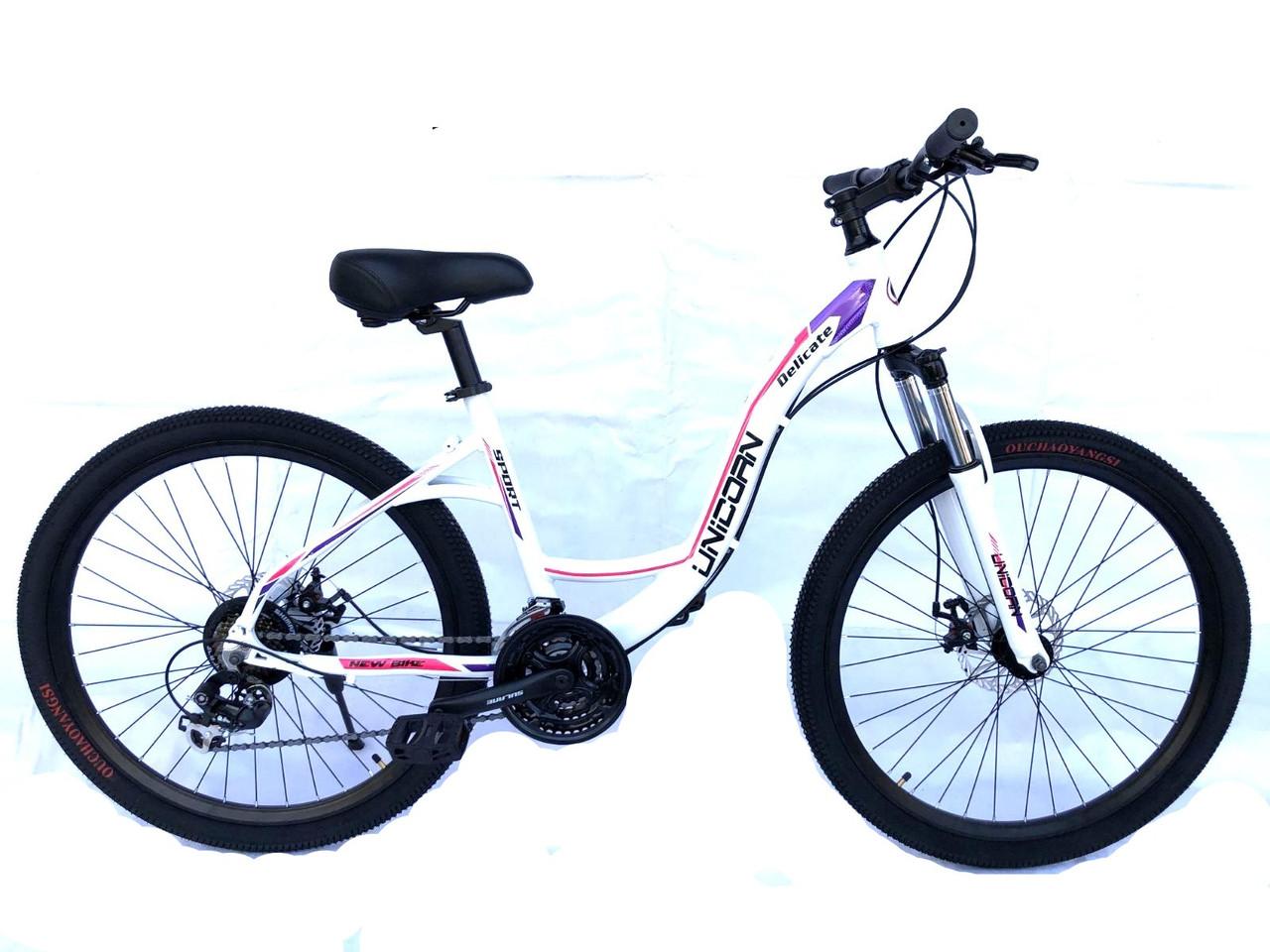 """Гірський Жіночий велосипед «Делікат» 26"""" дюймів. Розмір рами 16"""" 2020 рік"""