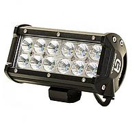 Автофара LED на крышу 12 LED 5D-36W-SPOT 160х70х80 | Светодиодная фара на 6 лампочек ближнего света, фото 1