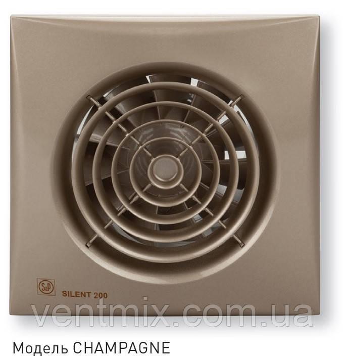 Вытяжной вентилятор Silent 100 CZ Champagne