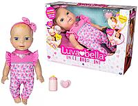 Интерактивная кукла Лувабелла Новорожденная малышка Luvabella Newborn (6053413)