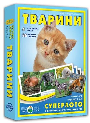 """Супер ЛОТО """"Животные"""" 81923"""