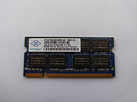 Оперативная память для ноутбука SODIMM Nanya DDR2 2Gb 800MHz PC2-6400S (NT2GT64U8HD0BN-AD) Б/У, фото 1