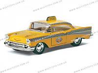 KINSMART Chevrolet Bel Air (Taxi) 1957, метал, инерц., в кор. 16х8х7