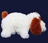Подушка Алина собачка Шарик 55 см белый, фото 2