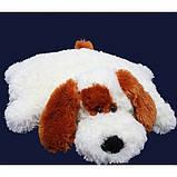 Подушка Алина собачка Шарик 55 см белый, фото 3