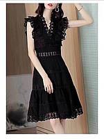Чорне літнє плаття, фото 1
