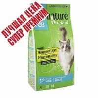 Сухой корм супер премиум с морепродуктами для взрослых котов Pronature Original Cat Seafood Delight 5.44 кг.