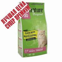 Сухой супер премиум корм для котят, с курицей Пронатюр Ориджинал Pronature Original Kitten Growth 350 гр.