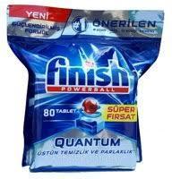 Finish Guantum таблетки (40шт+40шт б/к) для посудомийних машин ПГХ
