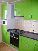 Кухни с крашенными фасадами в Харькове