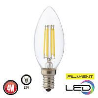 Светодиодная филаментная лампа FILAMENT CANDLE 4W 4200К HOROZ