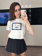 Женская короткая юбка плиссе, фото 1